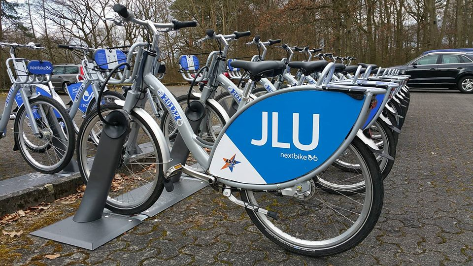Die Leihfahrräder sind endlich da!